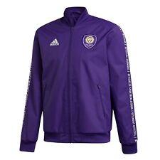 Adidas Mls Orlando City Sc Anthem Jacket Full-Zip Purple/White