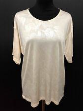 ROBERTA DI CAMERINO VINTAGE '80 Maglietta Donna Woman Maxi T-Shirt Sz.L - 46
