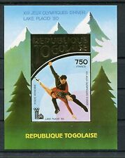 Togo Block 153 B postfrisch / Olympiade - Eiskunstlauf ...................1/2250