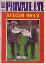 PRIVATE EYE 976 - 14 May 1999 - Mohamed Al Fayed Kevin Keegan - KEEGAN SHOCK