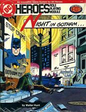 Night In Gotham Sealed New Batman Dc Heroes Superhero Roleplaying Super Module
