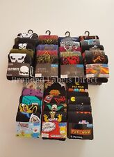 MENS BOYS SOCKS 5 PAIRS THE GRINCH STAR WARS CALL OF DUTY SIMPSON  SIZE 6-12