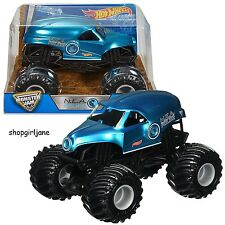 Monster Jam Trucks - N.E.A. Police - 1:24 Hot Wheels Die-Cast Model