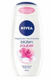 NIVEA Body Wash / Cremedusche Almond milk & Rose fragrance 250 ml From Germany