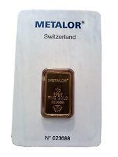 10g 999.9 Gold Bar Brand New!