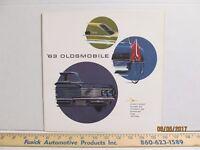 1963 Oldsmobile Dealership Sales Brochure #2 F-85 Cutlass Starfire Jetfire 88 98