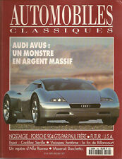AUTOMOBILES CLASSIQUES 49 AUDI AVUS PORSCHE 904 CADILLAC SEVILLE ALFA 8C 2900
