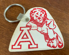 Vintage Albright College Lions Reading PA Rubber Keychain Key Ring