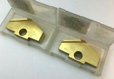 "** 2 Pcs ** 1C5YA-0012 Allied 3//8/"" Carbide Spade Drill Inserts TiALN #Y T-A"
