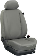 Renault Master bis 2010 Maß Sitzbezüge Vordersitze 2-Sitzer: Kunstleder/grau