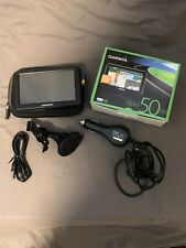 Garmin Nuvi 50LM Auto GPS Satellite Navigation System Case Logic EVA Bundle