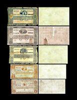 Brésil -  2x 1 - 50 Mil Reis - Edition 01.06.1833 - Reproduction - 53