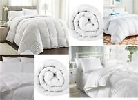 Duck Feather & Down Duvet/Quilt Bedding Tog 13.5 Outer Cover 100% Pure Cotton