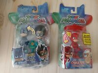 PJ Masks Light Up Lot Catboy And Romeo And Owlette