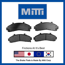 MD652 Front Disc Brake Pad Semi Metallic Set For Mazda B2300 B2500 B3000 B4000