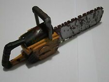 "1/6 Scale Blooded Chainsaw Lumberjack Firefighter Texas Saw For 12"" Figure"