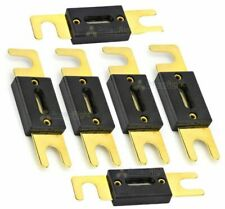 200A Amp Anl Fuse Gold Plated High Quality Fuses 6 Pack Car Audio Blade 12V Set