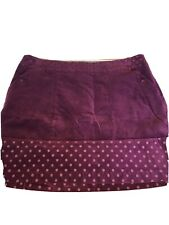 White Stuff Purple Skirt 16