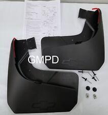 2019-2020 New Gen. Silverado GM Rear Black Molded Splash Mud Guards 84109906 OEM