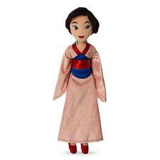 "Disney Store Deluxe Princess Mulan Plush Doll 21"" Kimono Dress Girls Toy Gift !"