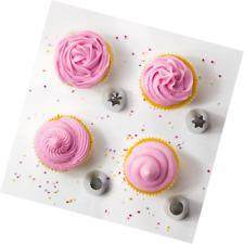 Grande De Acero Inoxidable un. Glaseado tuberías Boquillas Pasteles y Cupcakes 2D 1 M 4B 1 A
