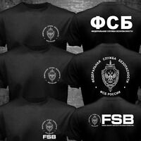 Russian Eagle KGB FSB Spetsnaz Counter Terrorist Special Forces Alpha T-shirt