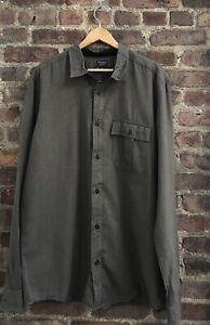 Filson Men's Long Sleeve Button Down Shirt Chest Pocket Size XL