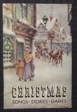 Vintage CHRISTMAS Songs Stories Games G/VG 3.0 Night Before Christmas 16pgs