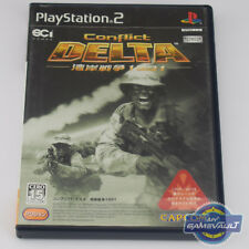 Conflict Delta: The Gulf War 1991 Japan Import - PS2 Game Manual VGC NTSC J