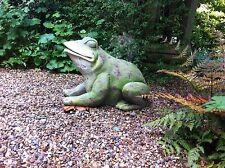 Stunning Frog Garden Decoration - HUGE!