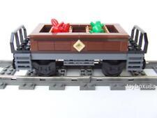 New Custom Built Train Car Built with New Lego Bricks ( Emerald Night 10194 )
