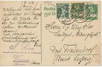 "SCHWEIZ ""VERSOIX"" grosser K1 10 C Tellbrustbild Pra.-GA-Postkarte m. dto 10 C"
