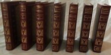 Shakespeare 7 volumes Franklin Library 25th Anniversary Great Books Near Mint!