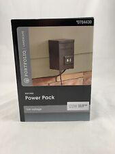120 WATT Low Voltage Landscape Lighting Power Supply Timer & Light Sensor CIB
