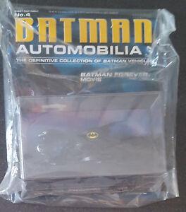 Batman Automobilia Issue No. 4 - Eaglemoss Collections