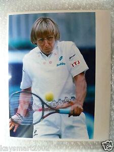 Tennis Press Photo- MARTINA NAVRATILOVE in action USA Player (Original*)