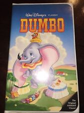 Dumbo VHS, 1994  Walt Disney's Black Diamond Classic Movie Classic 024
