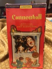Cannonball Good Times John Burningham Vhs Video New Sealed RARE OOP! Sims