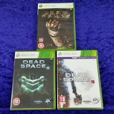 xbox 360 DEAD SPACE x3 Games 1 + 2 + 3 TRILOGY Survival Horror Collection PAL UK