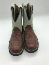 Ariat Baby Fat Cowboy Boots sz US 6B pre-owned