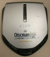 Sony D-E301 Discman Walkman ESP AVLS Mega Bass Sony Portable CD Player Vintage