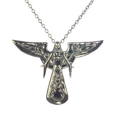 Leora Celeste Angel Sterling Silver 925 Pendant Necklace Anne Stokes Supernature