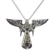 Leora Celeste Angel Sterling Silver 925 Pendant Necklace Anne Stokes Supernature
