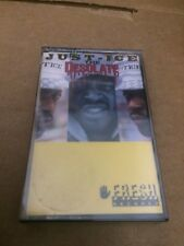 JUST  ICE THE DESOLATE ONE FACTORY SEALED CASSETTE  ALBUM H2