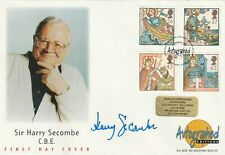 More details for 11 march 1997 missions of faith royal mail fdc hand signed by harry secombe sh
