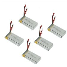 5Pcs 7.4V 1200mAh Rechargeable Lipo BatterIies For MJX X101 RC Helicopter Drone