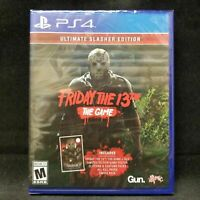 Friday The 13th: The Game Ultimate Slasher Edition PS4 (Sony PlayStation 4)