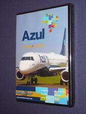 JUST PLANES COCKPIT VIDEO DVD        AZUL  E-190    E-195          new & sealed