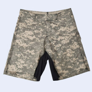 Mens Army Combat Military Camo Shorts Fishing Camping Outdoor Work Camo nikers