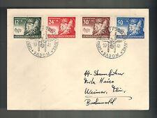 1941 Radom Poland to Germany Buchenwald Concentration Camp Guard KZ Cover